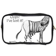 Lost Travel Toiletry Bag (two Sides)
