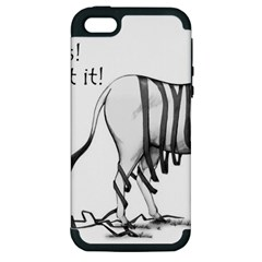 Lost Apple Iphone 5 Hardshell Case (pc+silicone)