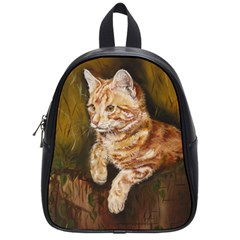 Cute Cat School Bag (small)
