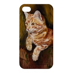 Cute Cat Apple iPhone 4/4S Premium Hardshell Case