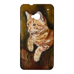 Cute Cat HTC One M7 Hardshell Case