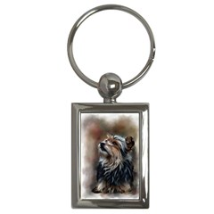Puppy Key Chain (Rectangle)