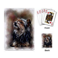 Puppy Playing Cards Single Design