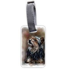 Puppy Luggage Tag (One Side)