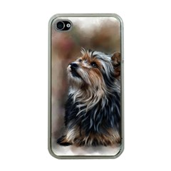 Puppy Apple iPhone 4 Case (Clear)