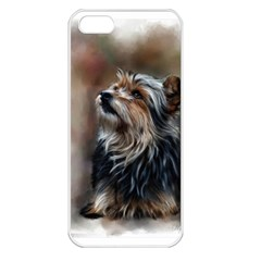 Puppy Apple Iphone 5 Seamless Case (white)