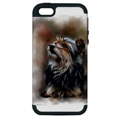 Puppy Apple iPhone 5 Hardshell Case (PC+Silicone)