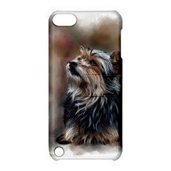 Puppy Apple Ipod Touch 5 Hardshell Case With Stand