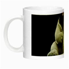 Bear in Mask Glow in the Dark Mug