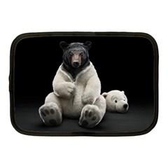 Bear in Mask Netbook Case (Medium)