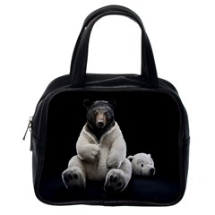 Bear In Mask Classic Handbag (one Side)