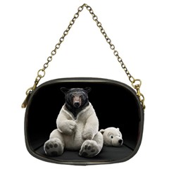 Bear in Mask Chain Purse (Two Side)