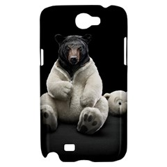 Bear in Mask Samsung Galaxy Note 2 Hardshell Case