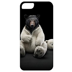 Bear In Mask Apple Iphone 5 Classic Hardshell Case