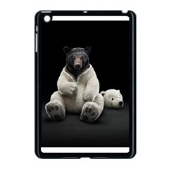 Bear in Mask Apple iPad Mini Case (Black)