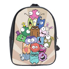 Monsters School Bag (xl)
