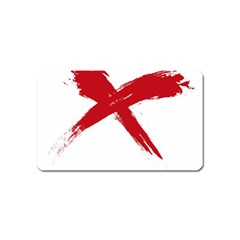 red x Magnet (Name Card)