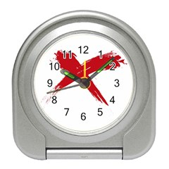 red x Desk Alarm Clock