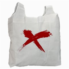 red x Recycle Bag (One Side)