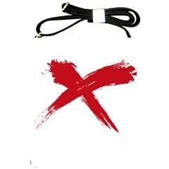 Red X Shoulder Sling Bag