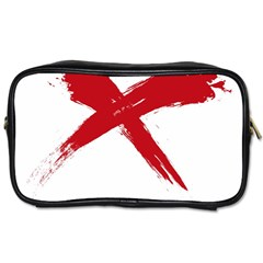 red x Travel Toiletry Bag (Two Sides)