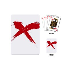 red x Playing Cards (Mini)