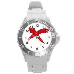 red x Plastic Sport Watch (Large)