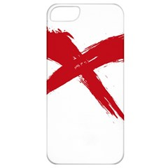 red x Apple iPhone 5 Classic Hardshell Case