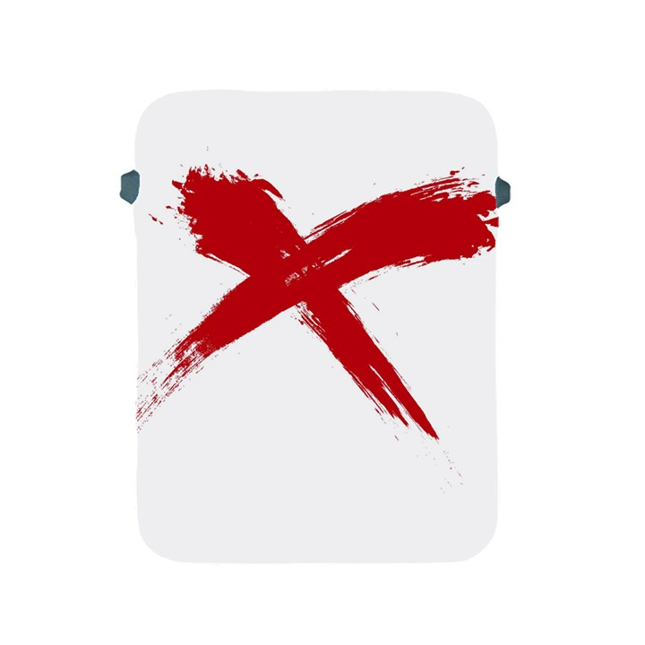 red x Apple iPad 2/3/4 Protective Soft Case