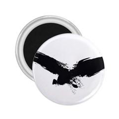 Grunge Bird 2.25  Button Magnet