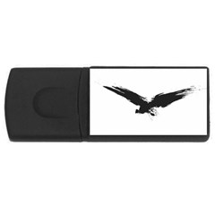 Grunge Bird 1GB USB Flash Drive (Rectangle)