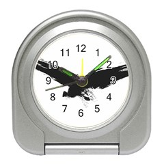 Grunge Bird Desk Alarm Clock