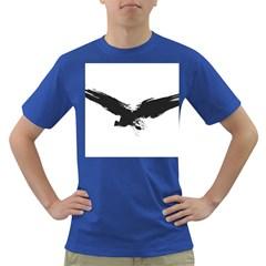 Grunge Bird Mens' T Shirt (colored)