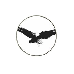 Grunge Bird Golf Ball Marker 4 Pack (for Hat Clip)
