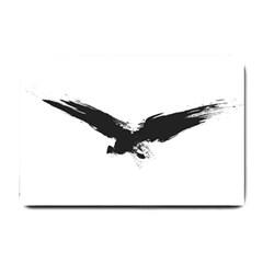 Grunge Bird Small Door Mat
