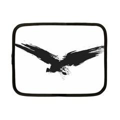 Grunge Bird Netbook Case (Small)