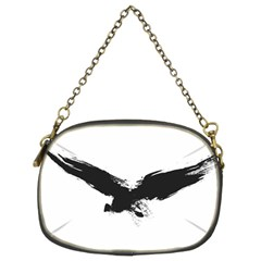 Grunge Bird Chain Purse (Two Side)