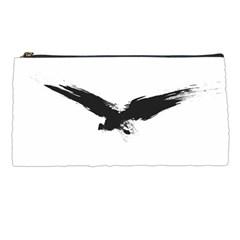 Grunge Bird Pencil Case