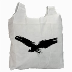 Grunge Bird Recycle Bag (Two Sides)