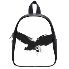 Grunge Bird School Bag (Small)
