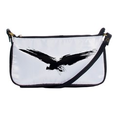 Grunge Bird Evening Bag