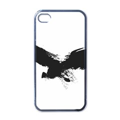 Grunge Bird Apple iPhone 4 Case (Black)