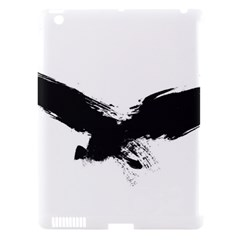 Grunge Bird Apple Ipad 3/4 Hardshell Case (compatible With Smart Cover)