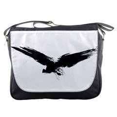 Grunge Bird Messenger Bag