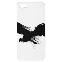 Grunge Bird Apple Iphone 5 Hardshell Case