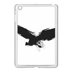 Grunge Bird Apple iPad Mini Case (White)