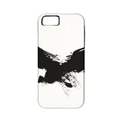 Grunge Bird Apple iPhone 5 Classic Hardshell Case (PC+Silicone)