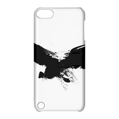 Grunge Bird Apple iPod Touch 5 Hardshell Case with Stand