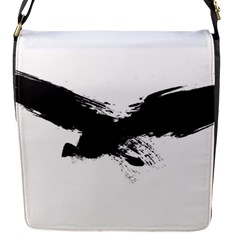 Grunge Bird Removable Flap Cover (small)