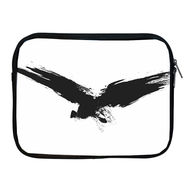 Grunge Bird Apple iPad 2/3/4 Zipper Case